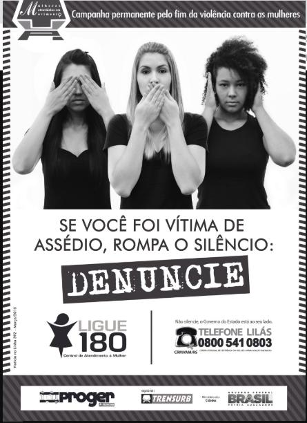 bd9fd765d Campanha permanente pelo fim da violência contra as mulheres... Enem 2018
