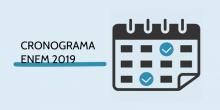 Cronograma Enem 2019