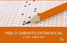 Gabarito extraoficial ENEM 2017