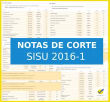 Notas de corte SISU 2016-1